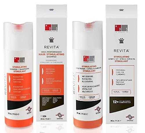 DS Laboratories Revita Krachtige haarstimulerende shampoo en conditioner, 7 Ounce / 205 Milliliter