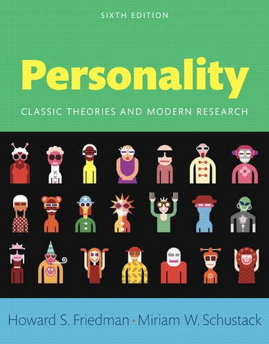 Perspectives on Personality: Classic Theories and Modern Research -- Books a la Carte (6th Edition)
