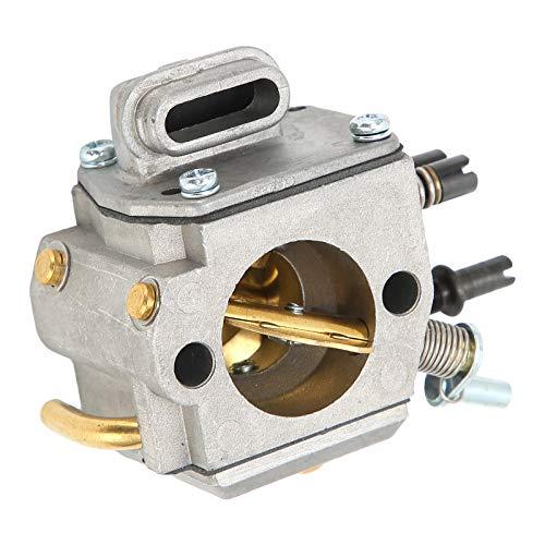 Jacksing Carburador de Motosierra, carburador Conveniente de Aluminio Duradero Profesional para Accesorios...
