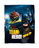 LEGO Batman Movie Hero Print Fleece Decke
