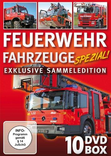 Feuerwehr Fahrzeuge Spezial! [10 DVDs]