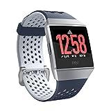 [GPS搭載]Fitbit Ionic スマートウォッチ Ink Blue & Ice Grey L/Sサイズ Adidas Edition FB503WTNV-CJK