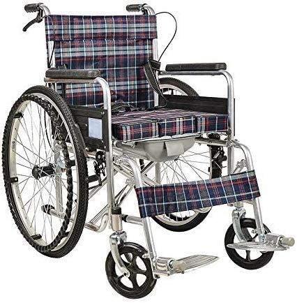 New product Fees free!! W-SHTAO L-WSWS Wheelchair Steel Folding W Wheelchair-Lightweight