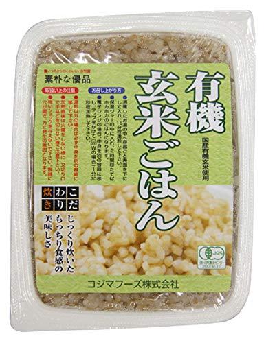 コジマ 有機・玄米ごはん 160g