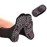 Chaussettes de massage auto-chauffante (Noire)