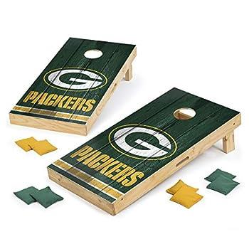 PROLINE NFL Green Bay Packers 2 x4  Cornhole Board Set - Vintage Design