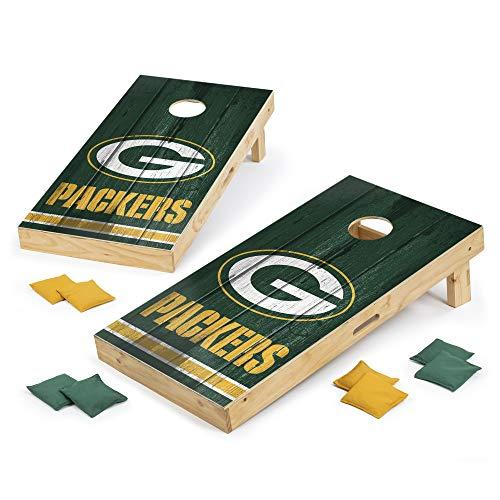PROLINE NFL Green Bay Packers 2'x4' Cornhole Board Set - Vintage Design