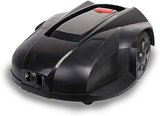 GJNVBDZSF Cortacésped robótico, accionamiento eléctrico de Litio, Carga automática Inteligente Inteligente, construcción de césped Completamente Inteligente, Negro