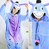 Dinosaurio Pijamas Adulto Adulto Felpa Pijamas Animales Zzzb (Color : Spyro, Size : XL)