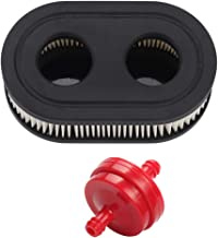 Trustsheer 593260 798452 Air Filter Cartridge Fuel Filter for Briggs and Stratton 500EX 550E 550EX 625EX 675EXI 725EXI eco-Plus 575EX Series Engine 4247 5432 5432K Engine Lawnboy Lawnmower