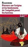 Discours Sur L'Origine Et Les Fondements De L'Inegalite Parmi Les Hommes (Folio Essais) by Rousseau, Jean-Jacques (1995) Mass Market Paperback - Schoenhofs Foreign Books