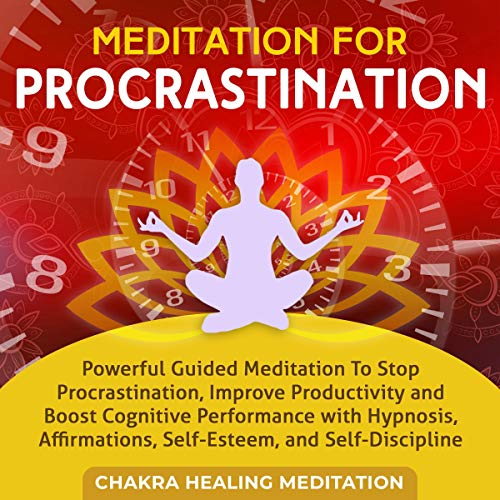 Meditation for Procrastination Audiobook By Emmanuel Young cover art