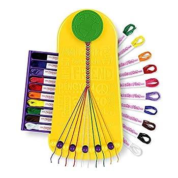 Choose Friendship My Friendship Bracelet Maker 20 Pre-cut Threads  Craft Kit / Kids Jewelry Kit