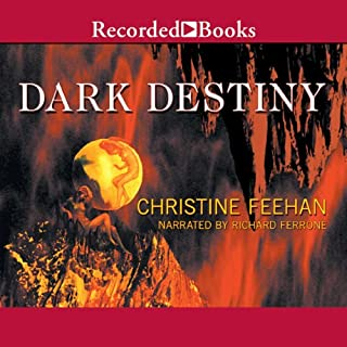 Dark Destiny     Dark Series, Book 13              By:                                                                                                                                 Christine Feehan                               Narrated by:                                                                                                                                 Richard Ferrone                      Length: 14 hrs and 9 mins     992 ratings     Overall 4.5