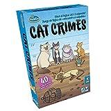 ThinkFun - Cat Crimes, Juego de Lógica, 1+ Jugadores, Edad Recomendada 8+