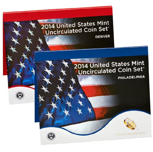 2014 2014 United States Mint Uncirculated Coin (U14) OGP