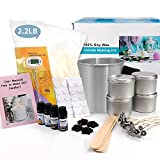 Candle Making Kit – Easy to Make Colored...