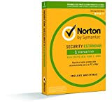 Norton Security Estándar 2019 - Antivirus, PC/Mac, 1 dispositivo, 1 año