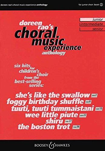 CME Anthology Junior: Vol. 2. Kinderchor (SSA) und Klavier. Chorpartitur. (Choral Music Experience)
