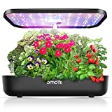 Hydroponics Growing System, OMOTE Hydroponic Garden for Indoor Plants, Herb Garden with 36W 80 LED Grow lights, 12 Kits, 2 Modes, Automatic Timer, Auto Germination Kit Indoor Garden for Family Kitchen
