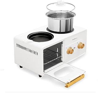 Asdfgh Machine De Petit-déjeuner À Quatre En-un Four À Quatre En-un, Four À Table Électrique Avec Réglage De La Températur...