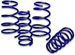 DNA Motoring LS-GP97-BL Suspension Lowering Springs