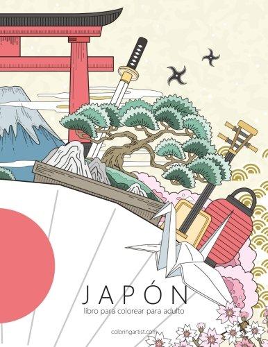 Japón libro para colorear para adultos 1: Volume 1