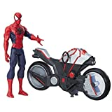 Marvel Spiderman - Figura Spiderman, con vehículo (Hasbro B9767EU4)