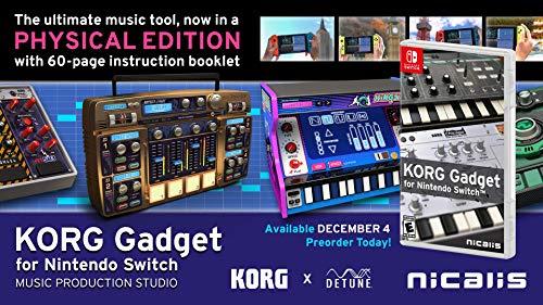 KORG Gadget for Nintendo Switch – Nintendo Switch