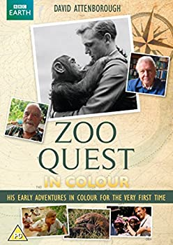 Zoo Quest in Colour  Starring David Attenborough [DVD] [2016]