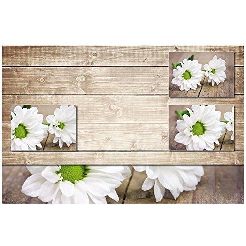 kela Set de Table, Plastique, Blanc/Brun, 43,5x28,5x1 cm