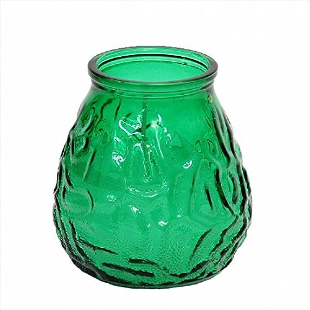 抽象瞑想欠伸カメヤマキャンドル(kameyama candle) ネオベネチアン(ライトカラー) 「 グリーン 」