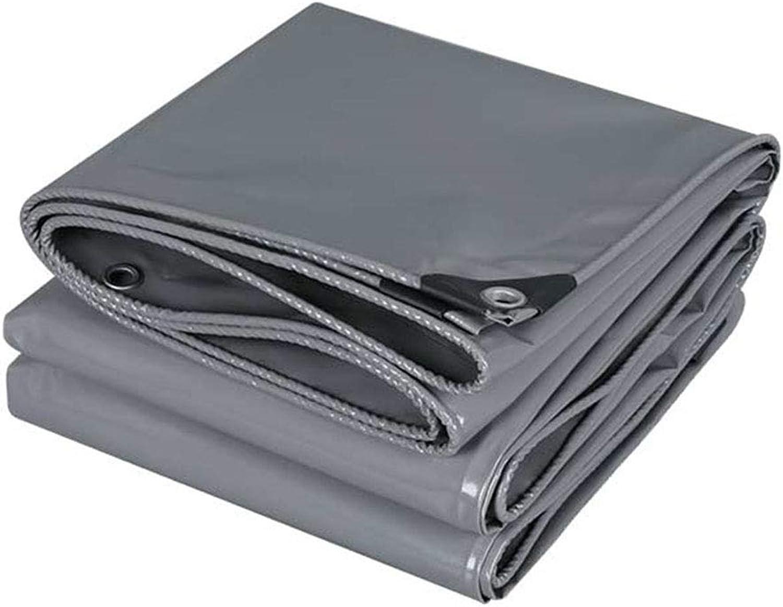 YX-Planen Graue Graue Graue Wasserdichte Plane Mehrzweck-Schwerlast - hohe Dichte 100% wasserdicht und UV-geschützt - Dicke 0,45 mm, 500 g m² B07KS3HJ37  Tadellos 936e23