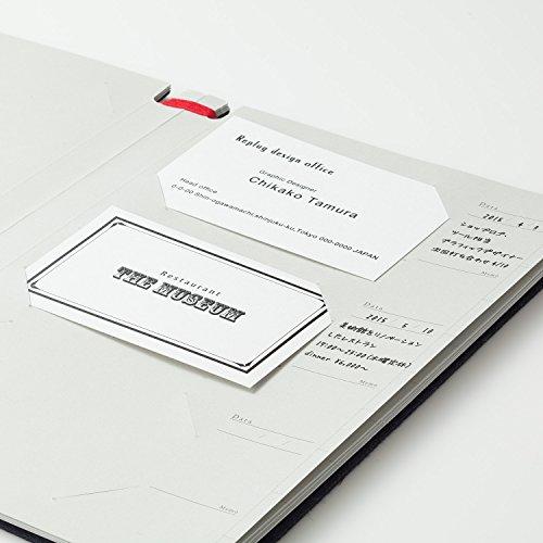 和気文具『名刺ファイルログブックLogbookRe+g』