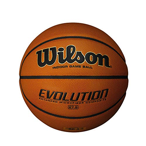 For Sale! Wilson Evolution Game Basketball, Black, Youth Size - 27.5