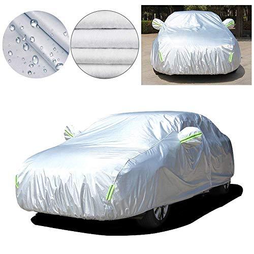 Handao-US Telo Copriauto Protettiva per Audi A3 Hatchback,Esterno Impermeabile TeloFilm in Alluminio Spunlace Copriauto Auto,Anti Polvere di Neve UV, Apertura Laterale per Cabina