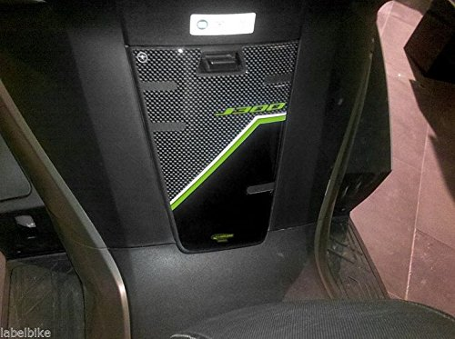 Pegatina DE Gel 3D PROTECCIÓN DE LA Puerta del Tanque para Scooter Compatible con Kawasaki J300