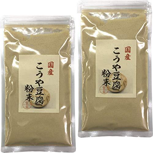 【国産】高野豆腐 粉末 150g×2袋セット 巣鴨のお茶屋さん 山年園