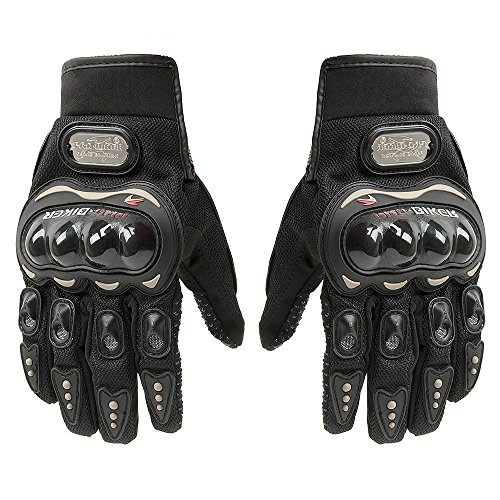 Tcbunny Pro-biker Motorbike Carbon Fiber Powersports Racing Gloves...