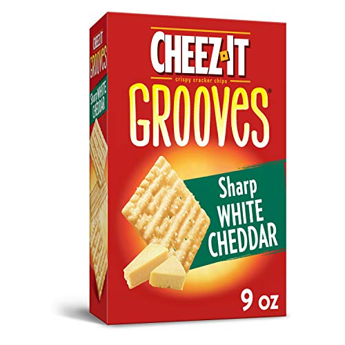 Cheez It Grooves Sharp White Cheddar, 9 Ounce by Cheez-It [Foods]