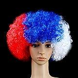 Drapeau National Perruque pour Crazy Soccer Sports Fans, Regarder L'équipement De Balle, Perruques Drôles De...