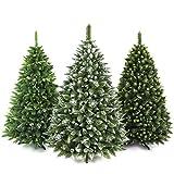 AmeliaHome 07836 180 cm Künstlicher Weihnachtsbaum PVC Tannenbaum Christbaum Kiefer Lemmy Weihnachtsdeko