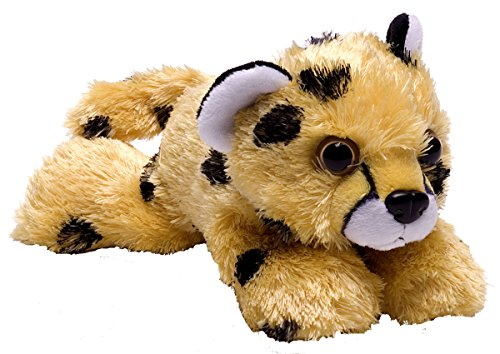 Wild Republic Cheetah Pup Plush, Stuffed Animal, Plush Toy, Gifts for Kids, Hug'Ems 7