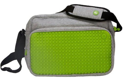 Pixel 35511521 - schoudertas 06 grijs/groen