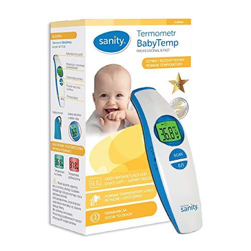 Digital Infrarot Fieberthermometer BabyTemp Sanity, Infrarot-Thermometer Kinder
