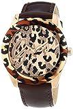 Guess Femmes Analogique Quartz Montre avec Bracelet en Cuir W0455L3