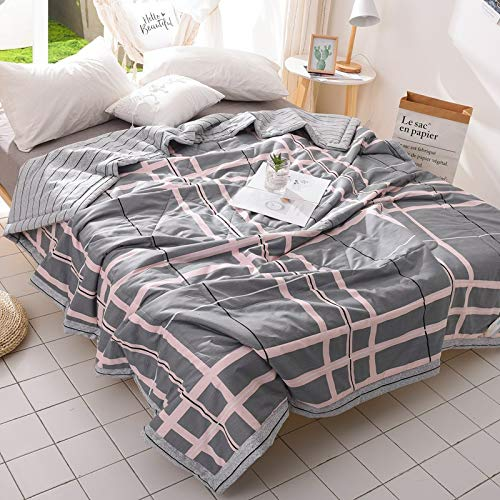 GGsmd Summer Quilt Baumwollkühl Durch Sommerdruck Klimaanlage Von Reiner Baumwolle Kühl Von Baumwolle 200 * 230 Aniston Sommerdecke
