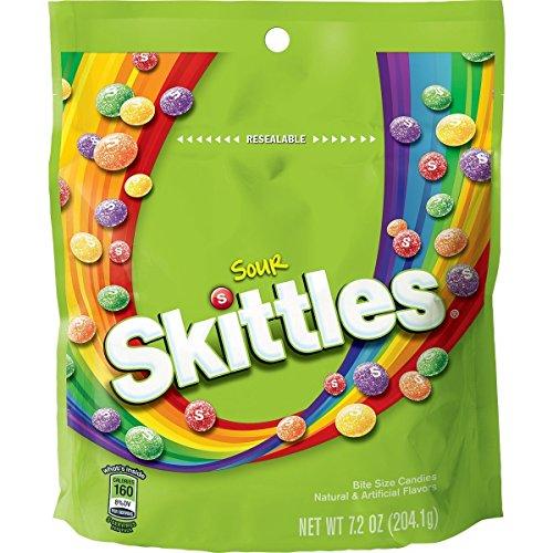 2 pk Bundle of Sour Skittles 7.2 oz each