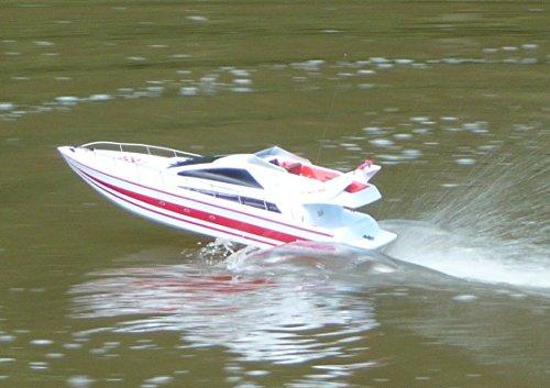 WIM-Modellbau RC Boot Yacht RENNBOOT 70cm der Hammer 25Km/h Ferngesteuert 2,4GHz