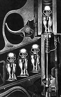 Tomorrow sunny 24X36 INCH / Guns Machines Artwork Birth H R Giger Art Silk Poster 21''